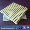 grooved wooden timber acoustic panel