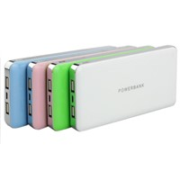 10000mAh Charging Power Bank with Li-polymer Battery PB04