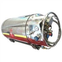 150 to 500L LNG Vehicle Cylinder with or without Pressurized Devices