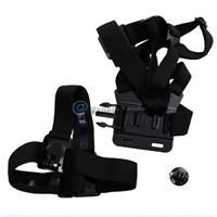 Black Chest Head Mount Handle Monopod Accessories For GoPro