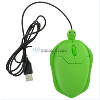 New USB 1000dpi 3D Wired Optical Cute Turtle Mice Mouse PC Laptop Comfort Hand