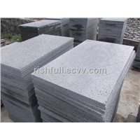 basalt with holes,basalt paver tile,basalt tile,black basalt saw cut