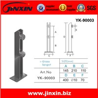 stainless steel glass fencing spigot YK-90003