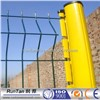 curvy welded wire panel fence
