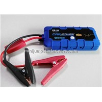 Portable car battery charger/jump starter power bank