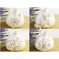Ceramic Reed Diffuser  with flowers, home essence set