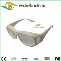 Cheap linear polarized 3d glasses 3d movies glasses for sale