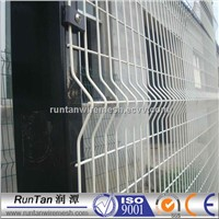Curved 3D Welded Mesh Fence