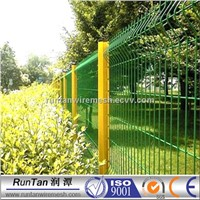 Garden welded pvc wire mesh fence