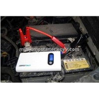 Portable auto battery charger