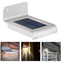 Solar LED Wall Light with Sensor