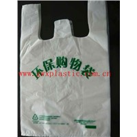heavy duty T-shirt plastic bag