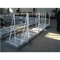marine gangways truss type and plate type