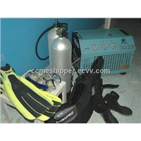 breathing air compressor for diving