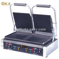 Electric contact grill (two plates) BY-EG813