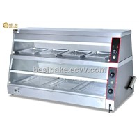 2-Side Open Door Food Warmer Display BY-DH-8P