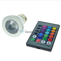 Magic Lighting LED Light Bulb And Remote With 16 Different Colors And 5 Modes