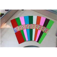 Crepe paper for wrapping and decoration
