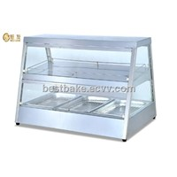 Electric food display warmer with 2 shelves BY-DH1100
