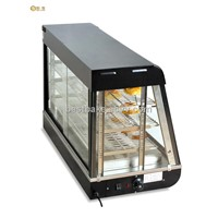 Curved Glass Warming Display Showcase Hot Food Warmer Display (BY-R60-2)