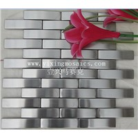 MI-35 camber stainless mosaic tile for wall decor