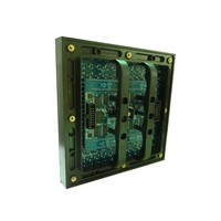 P10 Full Color Outdoor LED Display Module , RGB DIP 160*160mm Panel