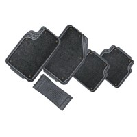 PVC car mats with carpet sticking MYCM-043
