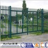 Euro steel pvc coated palisade fence