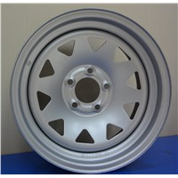 15 X 6J trailer wheel rim for pickup truck and trailer