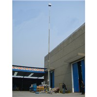 18m Pneumatic Locking Mast for Antenna/Military/Broadcasting/Telecommunication