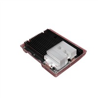 Silver Anodize Aluminum Extruded Heat Sink Thermal Resistance For Computer
