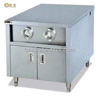 Stainless Steel Work Table With 2 Cup Dispenser BY-WS2