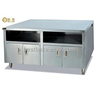 Stainless Steel Work Table with Cabinet BY-WS-11