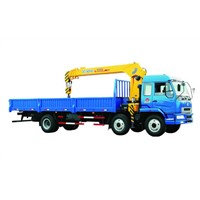8 Ton Lifting Capacity Truck Loader Crane With Telescopic Boom