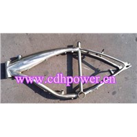 Bicycle Frame with Fuel Tank for the Motorized Bicycle