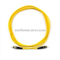 FC-FC Fiber Patch Cord (PC/UPC Single Mode Simplex )