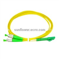 LC-FC Fiber Patch Cord (APC Single Mode Duplex )