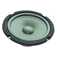 LS166W-2 audio Use and Portable Special Feature 6.5 inch car subwoofer speaker