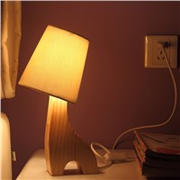 Lovely Desk lamps, with bulb can be changed into LED lamp, Fawn shape
