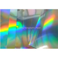 Seamless Rainbow BOPP Holographic Metallized Film for Packaging and Lamiantion
