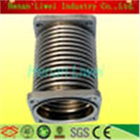Bearing high temperature stainless steel bellows expansion joint