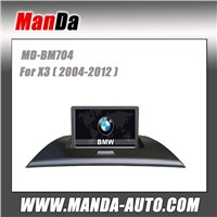 2 din car gps navigation for BMW X3 (2004-2012) satellite gps car radio multimedia system