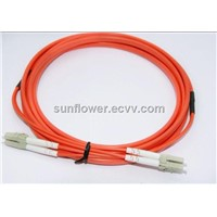 LC-LC Fiber Patch Cord (PC/UPC Multi Mode Duplex )