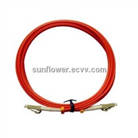 LC-LC Fiber Patch Cord (PC/UPC Multi Mode Simplex )