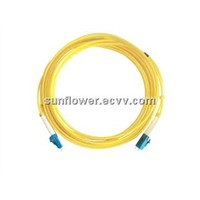 LC-LC Fiber Patch Cord (PC/UPC Single Mode Duplex)