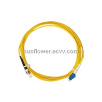 LC-ST Fiber Patch Cord (PC/UPC Single Mode Simplex )