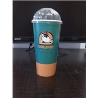 cold drink double PE paper cup