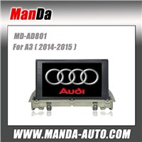 2 din car sat nav for Audi A3 (2014-2015)  in-dash head unit manufacturer
