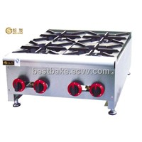 Counter Top Gas Range With 4-Burner BY-GH4