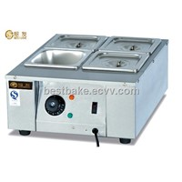 Stainless steel electric chocolate hot melting machine with 4 tanks BY-EH24